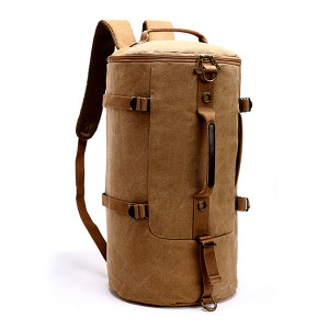 Canvas backpack-012