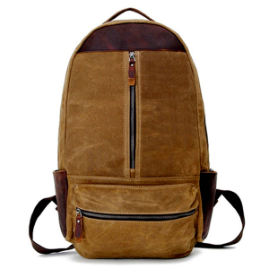 Canvas backpack-18008