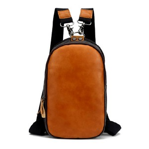 Leather Backpack-18010